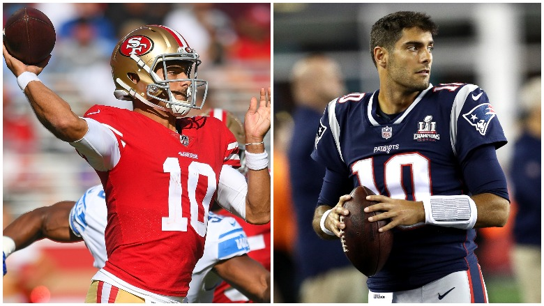 Jimmy Garoppolo Trade: What Did the 49ers Give Patriots? | Heavy.com