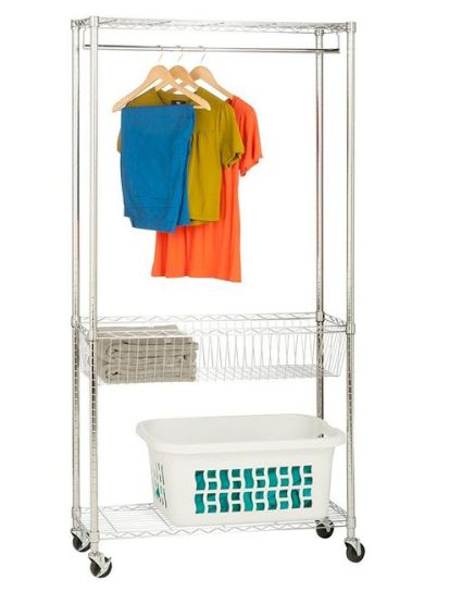 Rolling Laundry Station