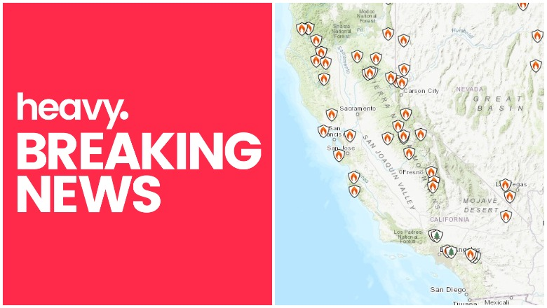Ucanr is sharing this map solely as a reference, and is not responsible for the content or interpretation of the map. California Fire Map Fires Evacuations Near Me Sept 7 Heavy Com