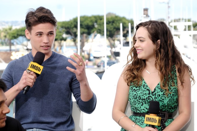 Tanner Buchanan and Mary Mouser