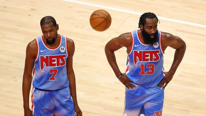 Kevin Durant James Harden Nets