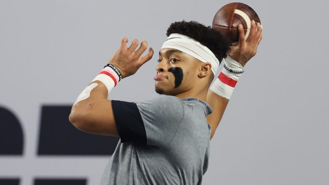 Justin Fields Ohio State 49ers