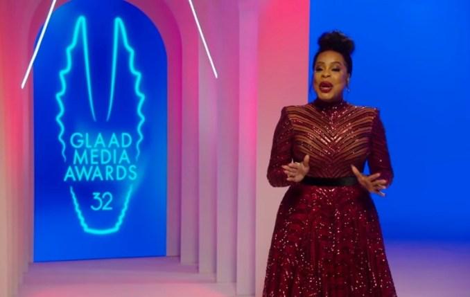 Niecy Nash hosts the 2021 GLAAD Media Awards