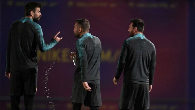 Gerard Pique and Jordi Alba