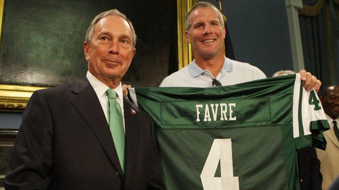 New York Jets Brett Favre