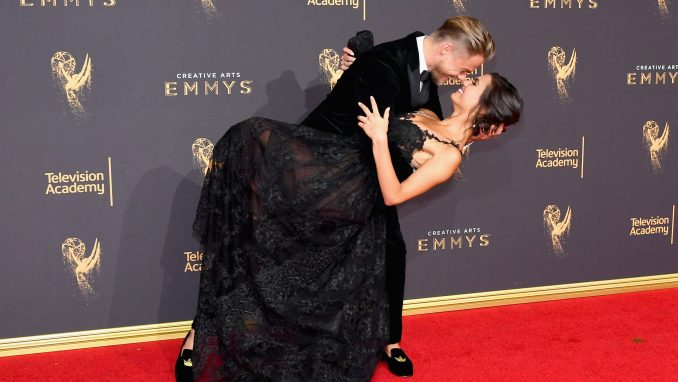 Derek Hough and Hayley Erbert