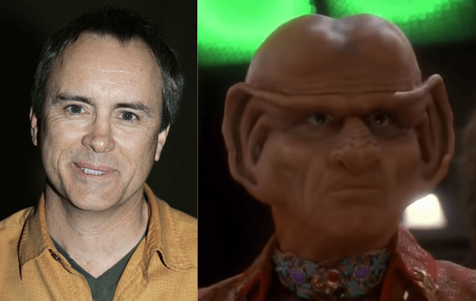 Jeffrey Combs and his character Brunt on