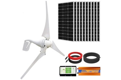 Eco-Worthy 1,400W Wind Solar Power Kit
