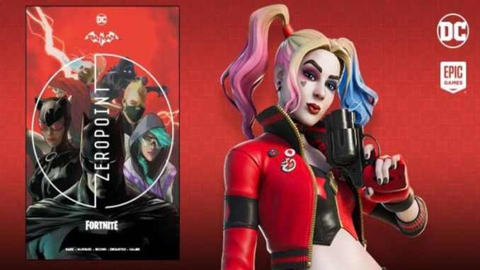 rebirth harley quinn outfit fortnite