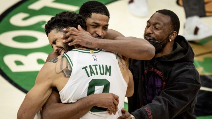 Tristan Thompson sends Jayson Tatum's son a message