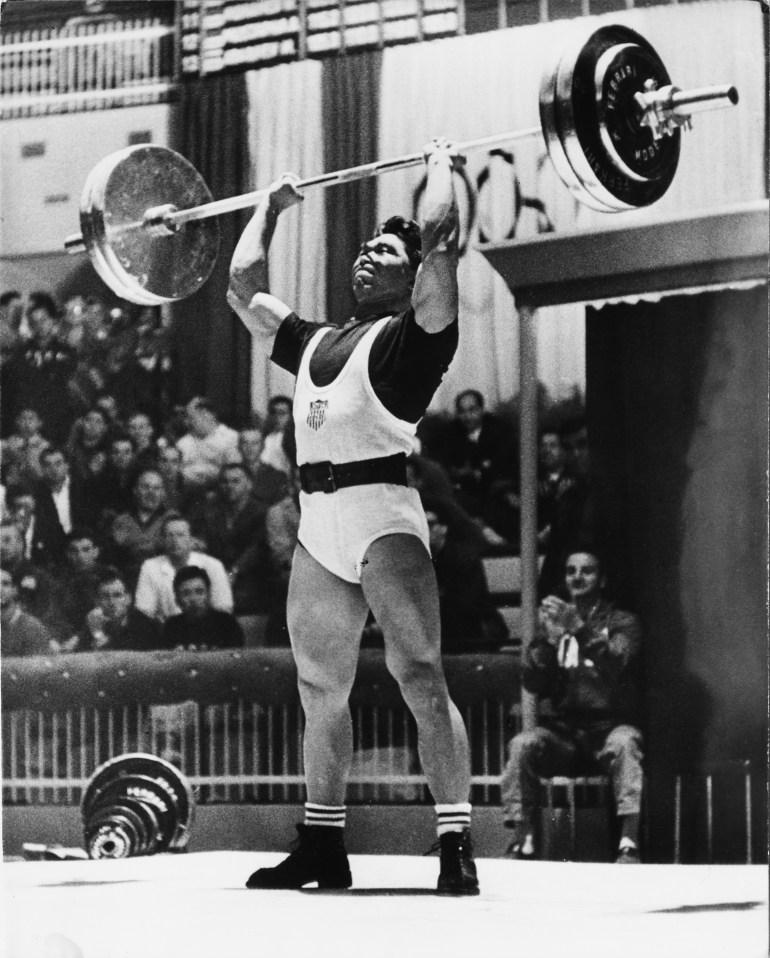 tommy kono weightlifting