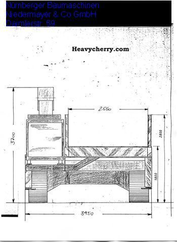 CAT Oetken transport crawler 1996 Dozer Construction