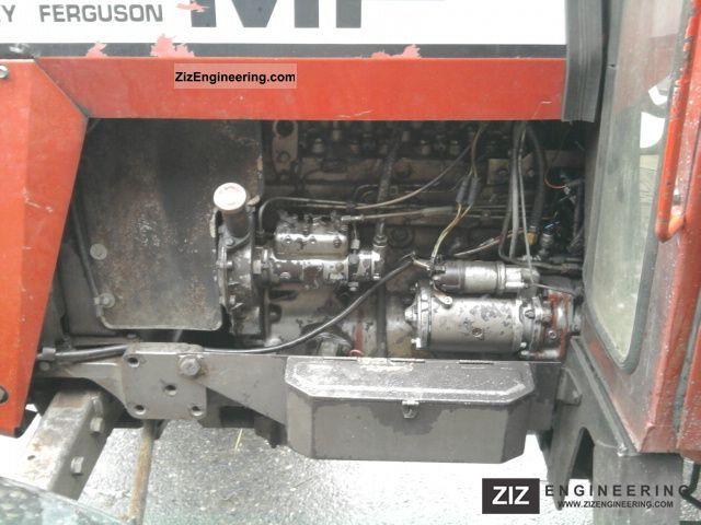 Kw Trailer Wiring Diagram Massey Ferguson 590 Cab Power Steering 1977 Agricultural