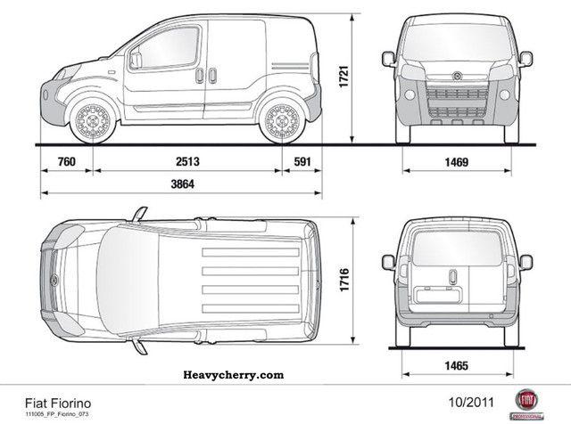 Fiat Fiorino Cargo gas + gasoline 2011 Box-type delivery