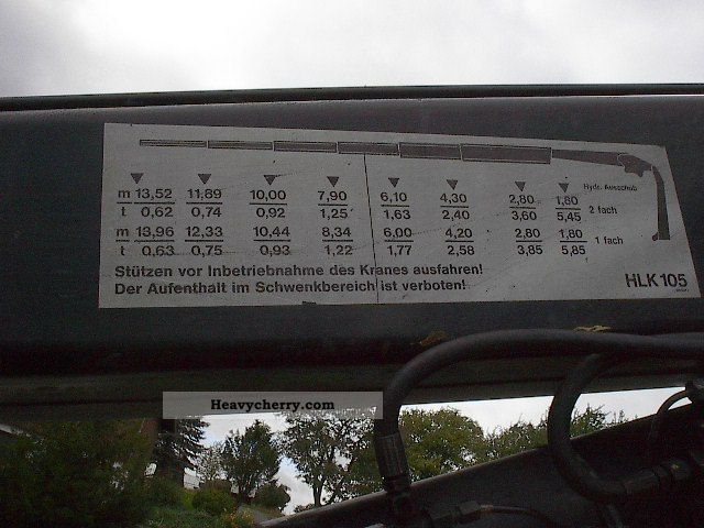 Deutz Parts Diagram Mercedes Benz 1726 Mkg Crane Rear Mounted Hvac 105 1992