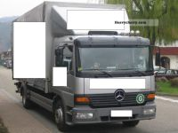 Mercedes-Benz Atego 1523-M.Haus-lift air-Standhz ... 2002 ...