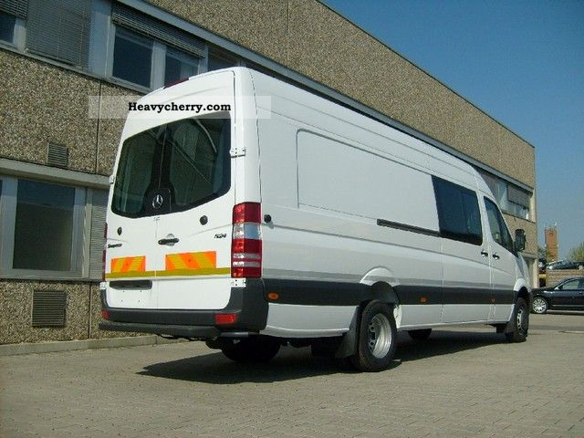Mercedes Benz Sprinter 424 Van 43L50 Extra Long Prins 2011 Box Type Delivery Van High And