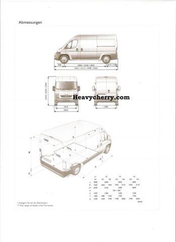 Peugeot Boxer L4H2 Hdi 435 2.2/130PS air / Radiovorbe