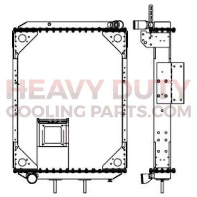 C15 Caterpillar Engine Diagram besides 400 further International Transtar 2010 Premium Plastic Aluminum Radiator Hdc010825p furthermore Caterpillar 3406e Engine Wiring Diagram furthermore 2012101310808802643327253. on caterpillar radiator