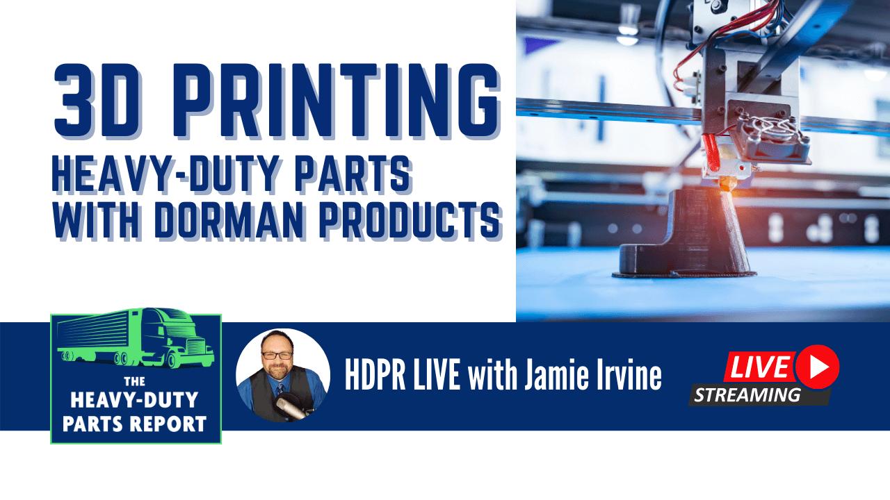 Jamie Irvine interviews Dorman about 3D Printing