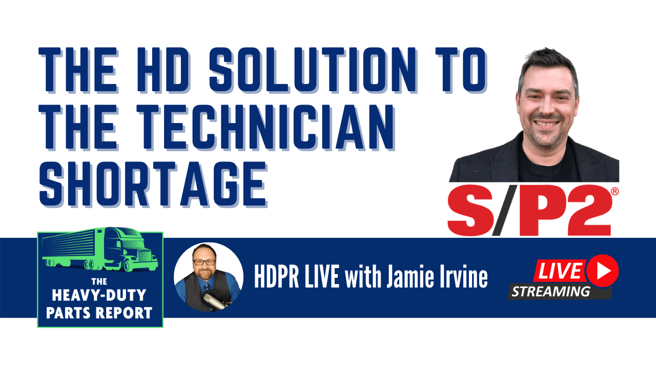 Jamie Irvine interviews Kyle Holt from SP2 live on The Heavy-Duty Parts Report.