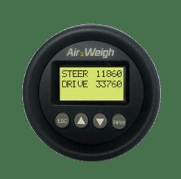 Air Weigh digital display