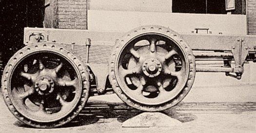 Original walking suspension by Hendrickson