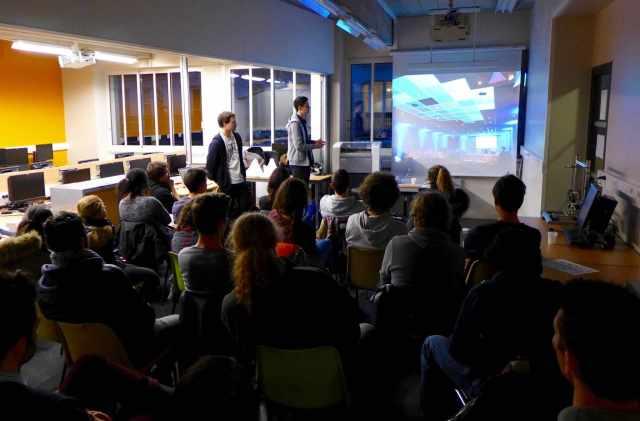 Workshop at l'ESME Sudria engineering school 1