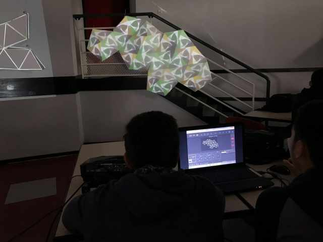 workshop at Orthez High school 2