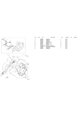 Sumitomo SH60-2 Parts Manual