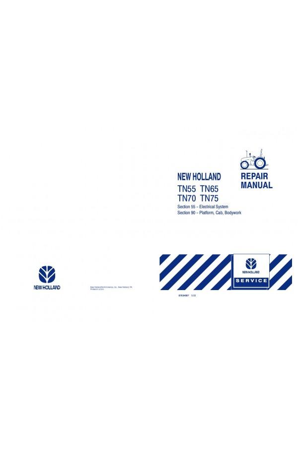 New Holland TN55, TN65, TN70, TN75 Service Manual