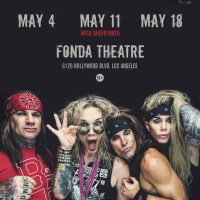 Steel Panther Interview Satchel and Lexxi Foxx