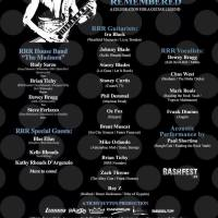 RANDY RHOADS REMEMBERED Celebration at COUNT'S VAMP'D in Las Vegas, NV on 3/24/2017