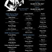 RANDY RHOADS REMEMBERED at THE CANYON CLUB 3/19/2017