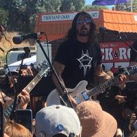 DAVE GROHL GUESTING With CHEVY METAL at CONEJO VALLEY DAYS Thousand Oaks 5/12/2017