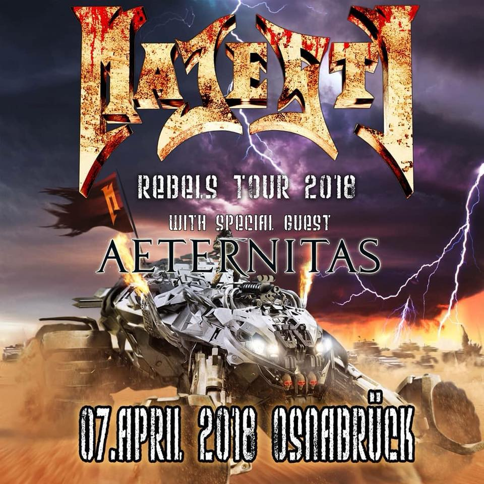 Majesty Rebels Tour 2018