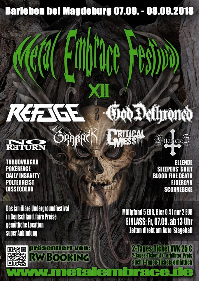 Metal Embrace 2018