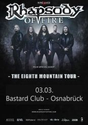 Rhapsody Of Fire Tour 2019