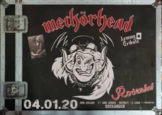 Konzertflyer Weckörhead 04.01.2020