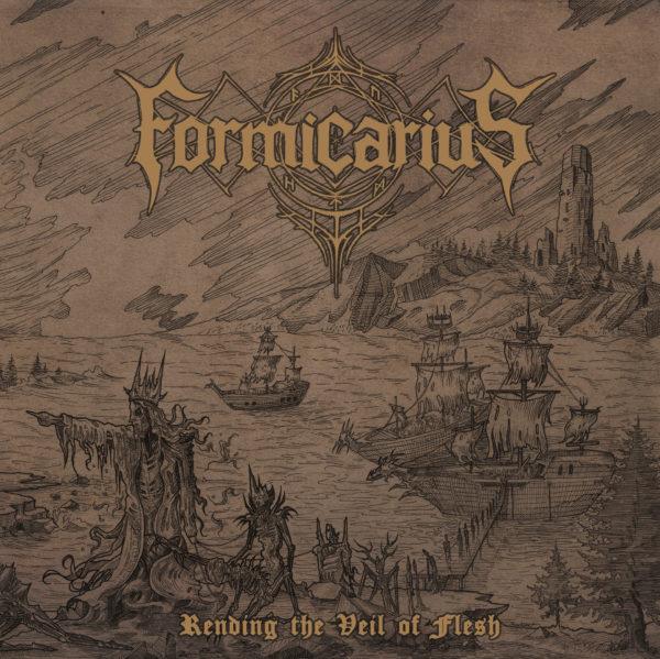 CD-Cover Formicarius - Rending The Veil Of Flesh