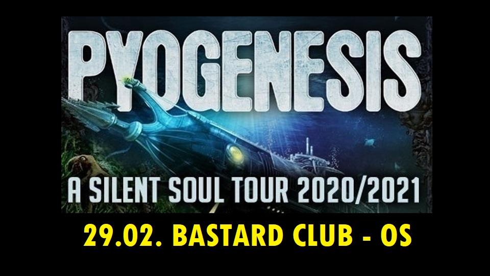 Konzertflyer Pyogenesis - A Silent Soul Tour, Osnabrück