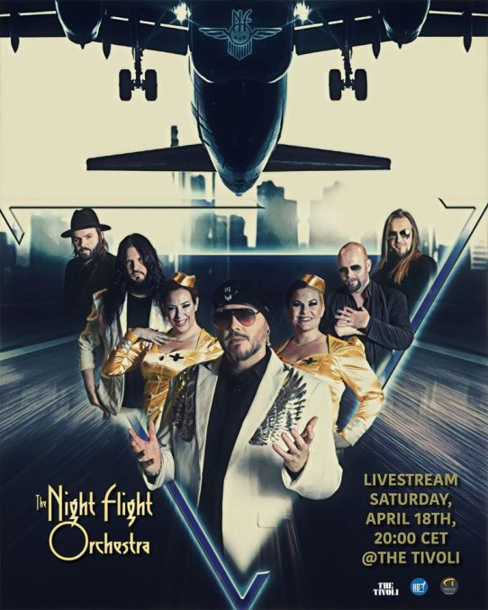 Flyer The Night Flight Orchestra Livestream