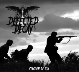 CD-Cover Defected Decay - Kingdom Of Sins