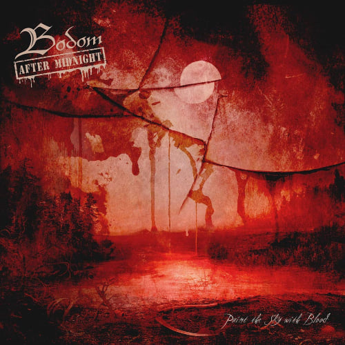 CD-Cover Bodom after Midnight - Paint The Sky With Blood