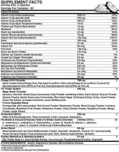 musclepharm-armor-v-nutrition-info
