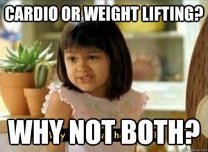 cardio-after-weights