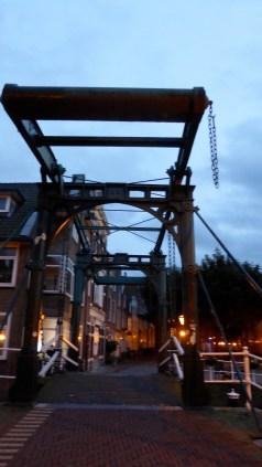 Bridge over Oude Rijn