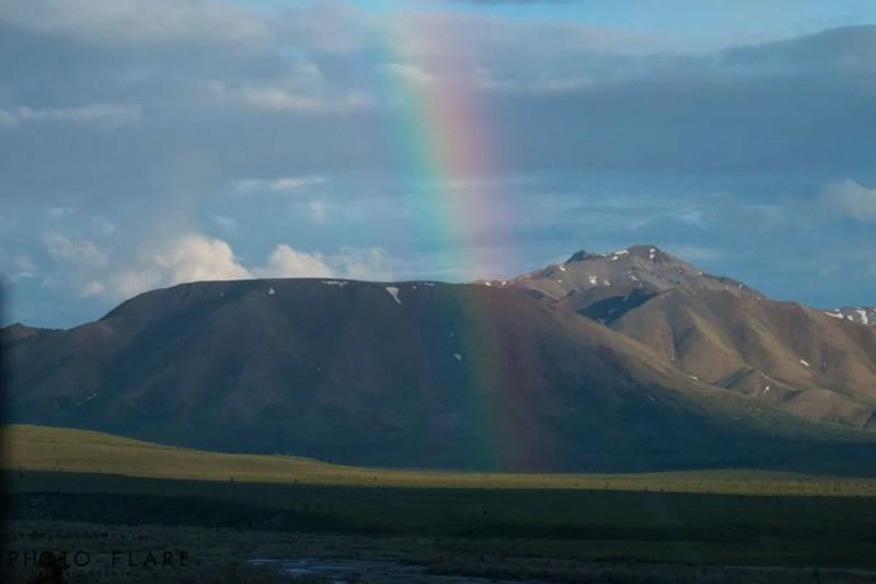 קשת בענן אלסקה