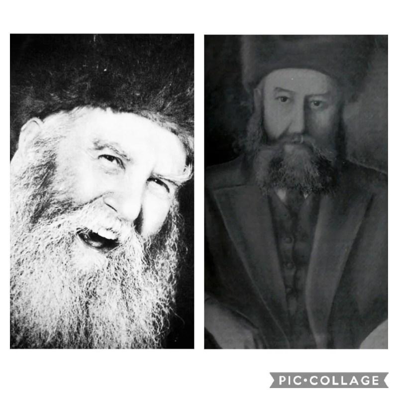 """הרבי הרש''ב והרבי הריי""""צ"""