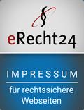 Impressum erstellt mit eRecht24